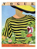 Vogue Cover - May 1934 - Glam Gardening