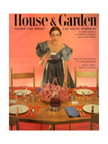 House & Garden Cover - May 1951 Giclée premium par Horst P. Horst