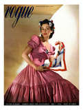 Vogue Cover - May 1940 Giclée premium par Horst P. Horst