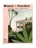 House & Garden Cover - November 1930 Giclée premium par André E. Marty