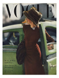 Vogue Cover - September 1945 - On the Town