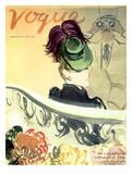 """Vogue Cover - September 1938 Giclée premium par Carl """"Eric"""" Erickson"""
