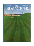 The New Yorker Cover - August 12  1974