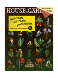 House & Garden Cover - January 1939