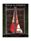 House & Garden Cover - May 1930 Giclée premium par André E. Marty