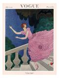 Vogue Cover - July 1921 Giclée premium par Harriet Meserole