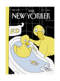The New Yorker Cover - October 4  2004