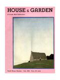 House & Garden Cover - July 1931 Giclée premium par André E. Marty