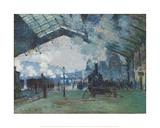 Arrival of the Normandy Train  Gare Saint-Lazare