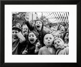 Children at a Puppet Theatre  Paris  1963