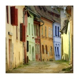 Alleys (Color Photography)