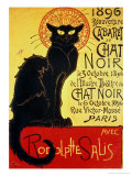 Chat Noir by Steinlen