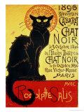 Chat Noir by Steinlen