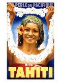 Tahitian Travel Ads