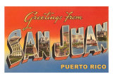 Greetings from Puerto Rico