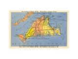 Maps of Martha's Vineyard, MA