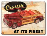 Vintage Transportation (Wood Signs)