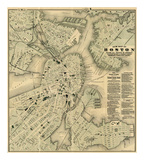 Maps of Boston, MA