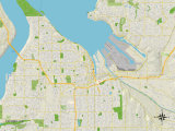 Maps of Tacoma, WA