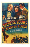 Sherlock Homes & the Voice of Terror