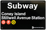 Subway Station Signs
