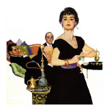 Leading Ladies and Men at the Top (Saturday Evening Post)