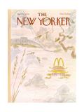 James Stevenson New Yorker Covers