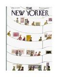 New Yorker Illustrations