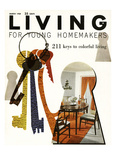 Living Magazine Illustrations