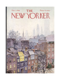 Winter New Yorker Covers