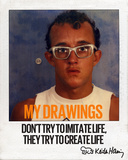 Quotable Polaroids (Haring Collection)