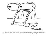 Dining New Yorker Cartoons