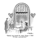 Spring New Yorker Cartoons