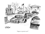 Patriotism New Yorker Cartoons
