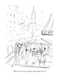 Foreigners New Yorker Cartoons