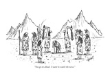 Stone Age New Yorker Cartoons