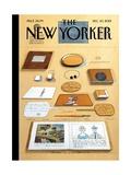 Saul Steinberg New Yorker Covers