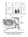 January 14, 2013 New Yorker Cartoons