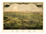 Maps of Lansing, MI