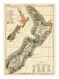 Maps of New Zealand
