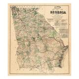 Maps of Georgia