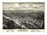 Maps of Salem, OR