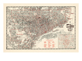 Maps of Detroit, MI