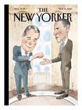 Barack Obama New Yorker Covers