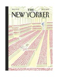Floral New Yorker Covers