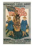Farmers (Vintage Art)