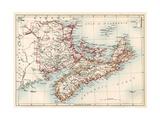 Maps of New Brunswick