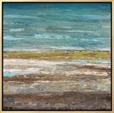 Tranquil Turquoise (Framed)