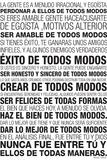 Spanish Language Motivational Posters