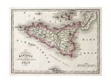 Maps of Sicily